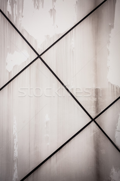Wall texture with diagonal black lines Stock photo © Juhku