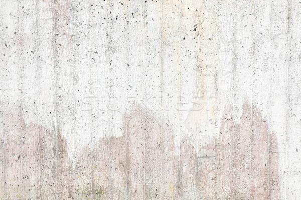 Capeado concretas pared textura aire libre resumen Foto stock © Juhku