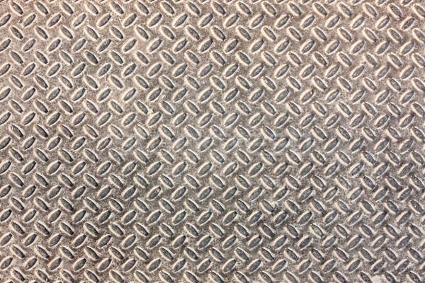 Dirty industrial grip floor texture pattern Stock photo © Juhku