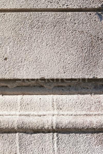 グレー セメント 石の壁 テクスチャ 抽象的な ストックフォト © Juhku