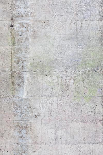 Viharvert beton fal textúra kint terv Stock fotó © Juhku