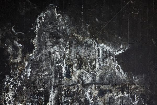Barwiony czarny konkretnych ściany streszczenie tekstury Zdjęcia stock © Juhku