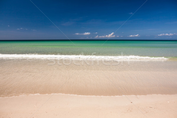 Cennet kum plaj Malezya uç Stok fotoğraf © Juhku