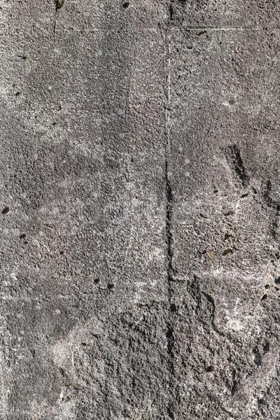 Elnyűtt szürke cement kőfal textúra fal Stock fotó © Juhku