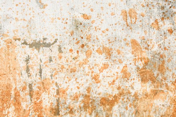 Kirli beton duvar eski doku taş Stok fotoğraf © Juhku