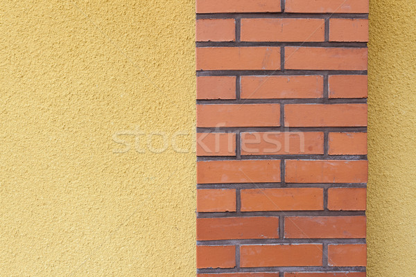 抽象的な 表示 建物 壁 都市 背景 ストックフォト © Juhku