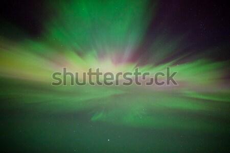 Norte luzes acima céu natureza fundo Foto stock © Juhku