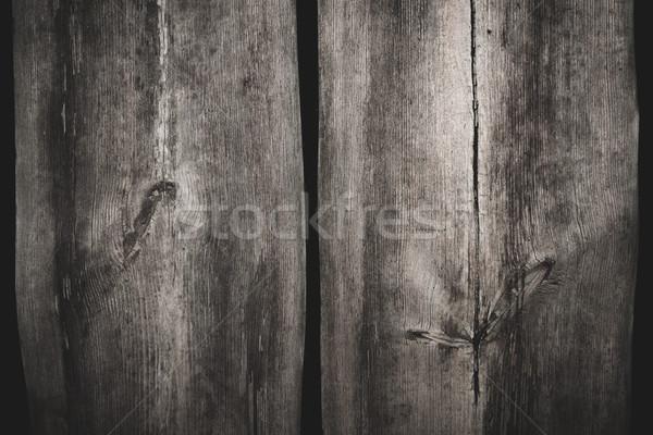 Two big planks wood texture background Stock photo © Juhku