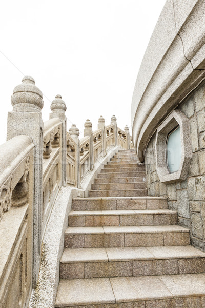 石 周りに ビッグ 仏 香港 ストックフォト © Juhku