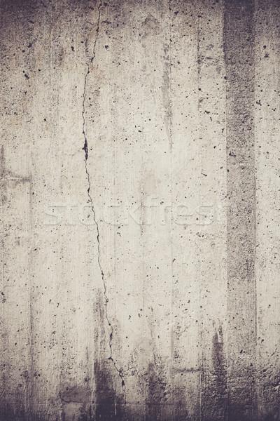 Wyblakły konkretnych ściany tekstury odkryty tle Zdjęcia stock © Juhku