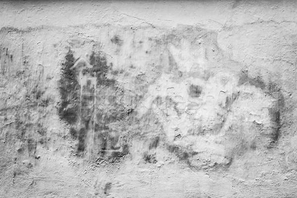 黒白 具体的な 壁 古い テクスチャ 抽象的な ストックフォト © Juhku
