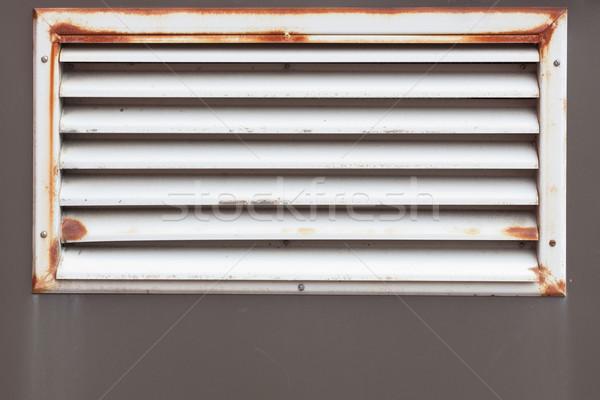 Pequeno rústico ar ventilação escritório edifício Foto stock © Juhku