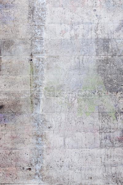 Intemperie concrete muro texture esterna design Foto d'archivio © Juhku