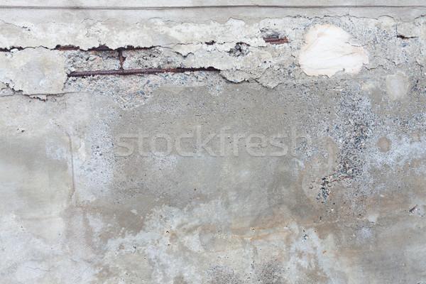 Gebroken beton muur textuur abstract achtergrond Stockfoto © Juhku
