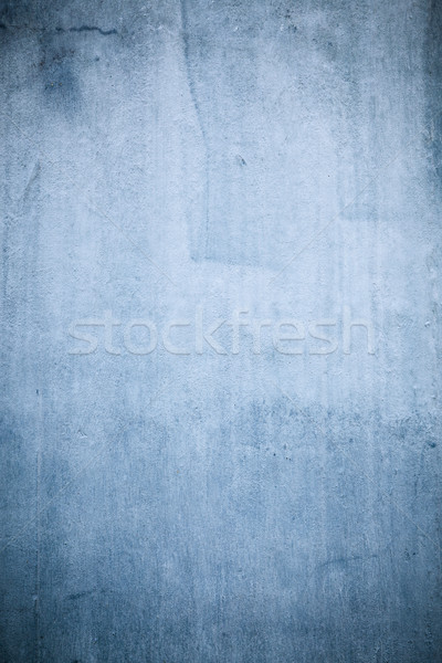 Blue concrete wall texture Stock photo © Juhku
