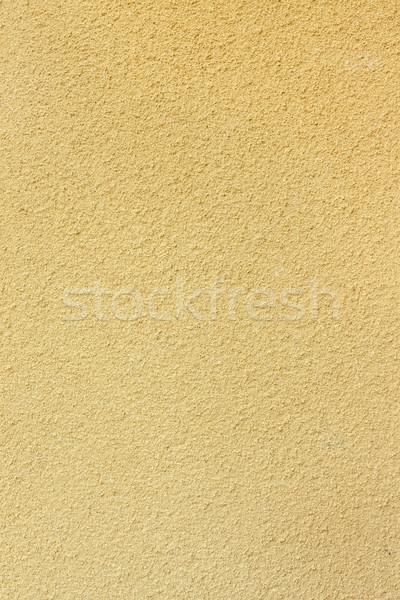 Sarı sıva duvar doku Stok fotoğraf © Juhku