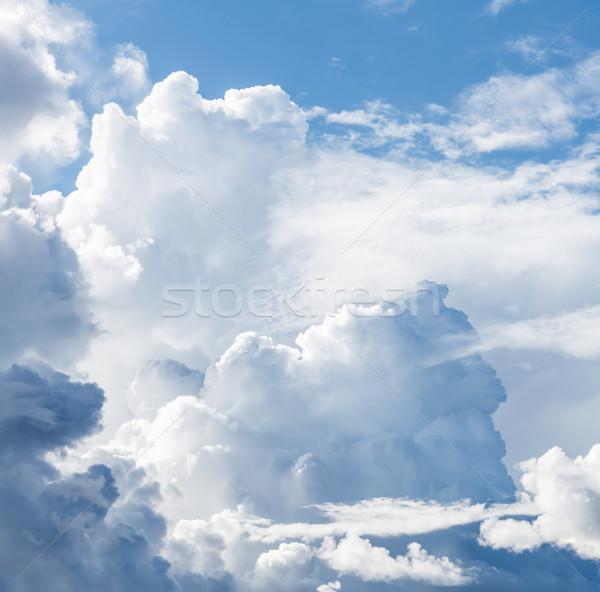 Stormy clouds on the sky Stock photo © Juhku
