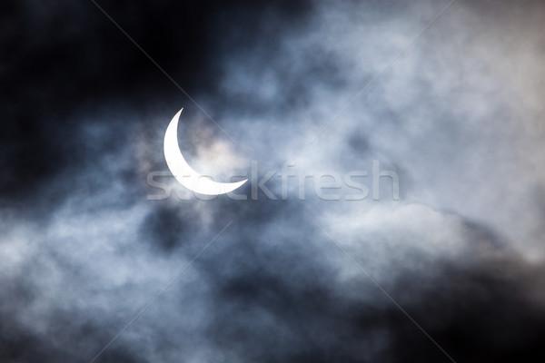 солнечной затмение облака солнце аннотация свет Сток-фото © Juhku