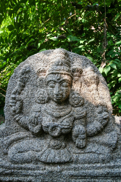 Foto stock: Piedra · estatua · ruinas · India · edificio · construcción
