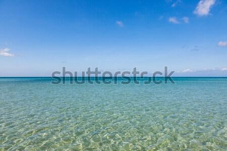 Raj piasku plaży Malezja wskazówka Zdjęcia stock © Juhku