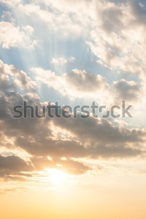 Calm sky scene Stock photo © Juhku