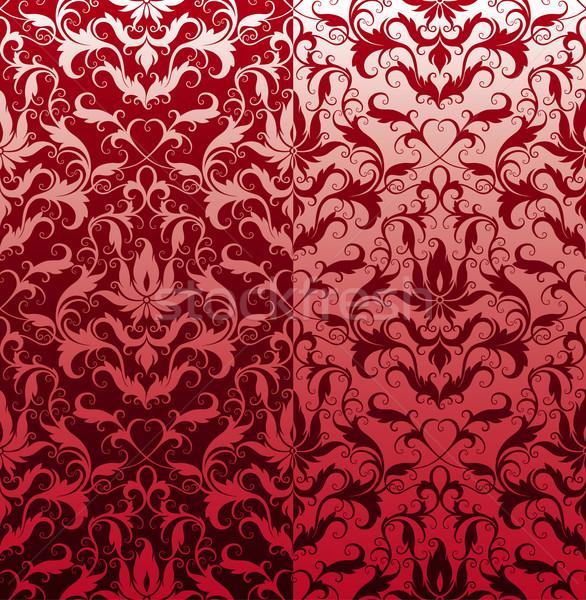 классический бесшовный цветочный обои текстуры Сток-фото © jul-and