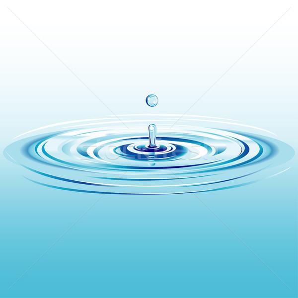 Kropla wody splash spadek cool płynnych Zdjęcia stock © jul-and