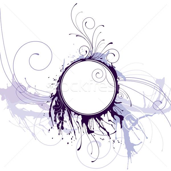 Abstrato nosso círculo quadro crescente linhas Foto stock © jul-and
