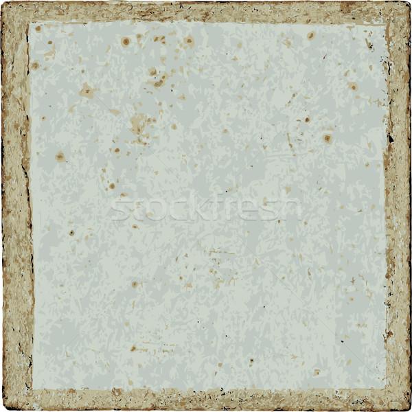 Textura grunge marco espacio vintage fondos Foto stock © jul-and