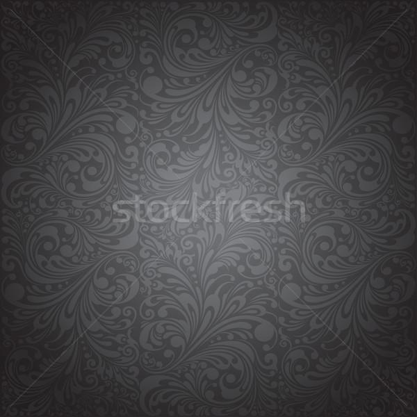 классический орнамент обои цветочный шаблон Сток-фото © jul-and