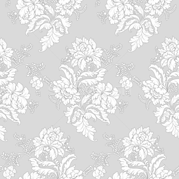 Clásico floral patrón sin costura wallpaper diseno Foto stock © jul-and