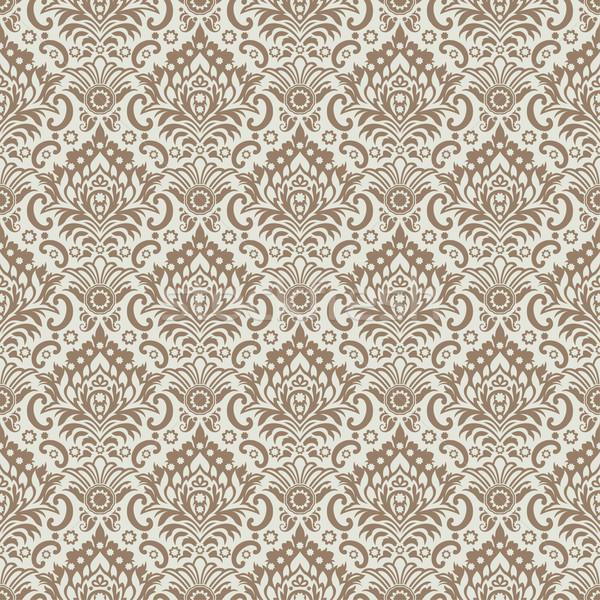 Sem costura clássico papel de parede textura folha Foto stock © jul-and