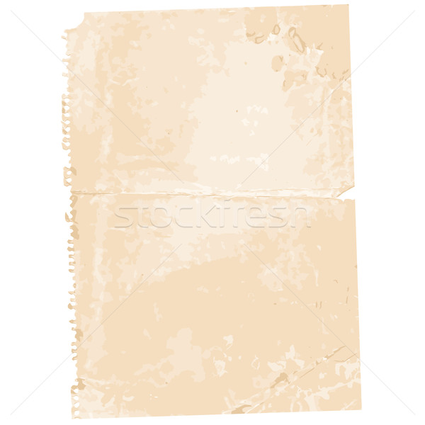 Torn Old Paper Page Background Stock photo © jul-and
