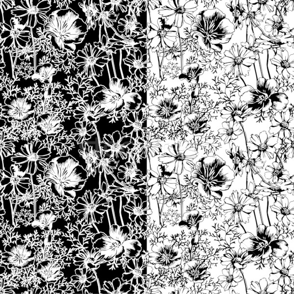 Seamless Flower Pattern Stock photo © jul-and