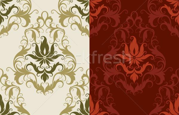 Klasyczny tapety bezszwowy wzór tekstury Zdjęcia stock © jul-and
