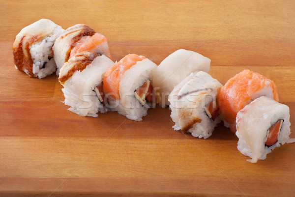 Японский суши пластина традиционный Сток-фото © julenochek