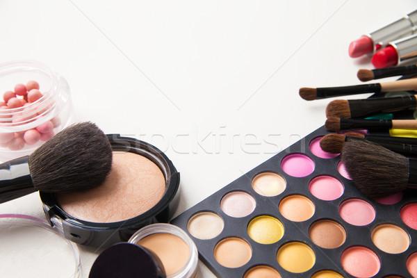 Diverso colorato faccia cosmetici compongono colori Foto d'archivio © julenochek