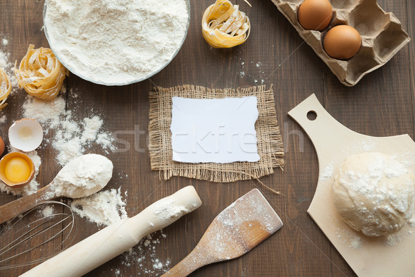 Bake cuisine composition. Stock photo © julenochek