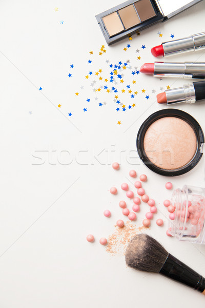 Different face cosmetics Stock photo © julenochek