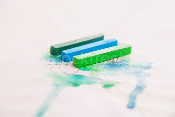 Close up of pastel lines for background Stock photo © julenochek