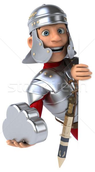 Roma asker dijital kılıç kavga ordu Stok fotoğraf © julientromeur