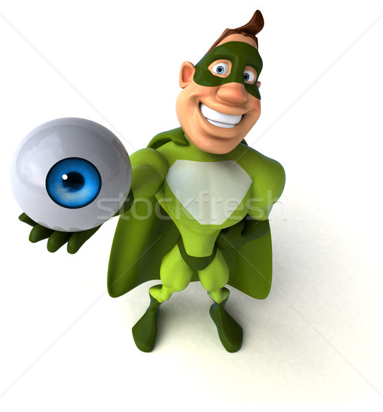 Fun superhero Stock photo © julientromeur