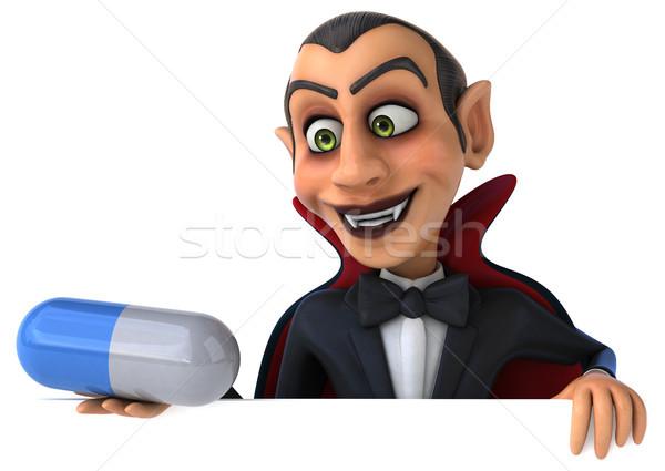 вампир искусства рот губ черный Готский Сток-фото © julientromeur