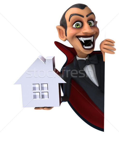 вампир дома домой искусства рот губ Сток-фото © julientromeur