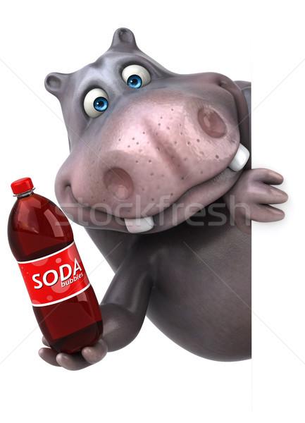 Fun hippo Stock photo © julientromeur