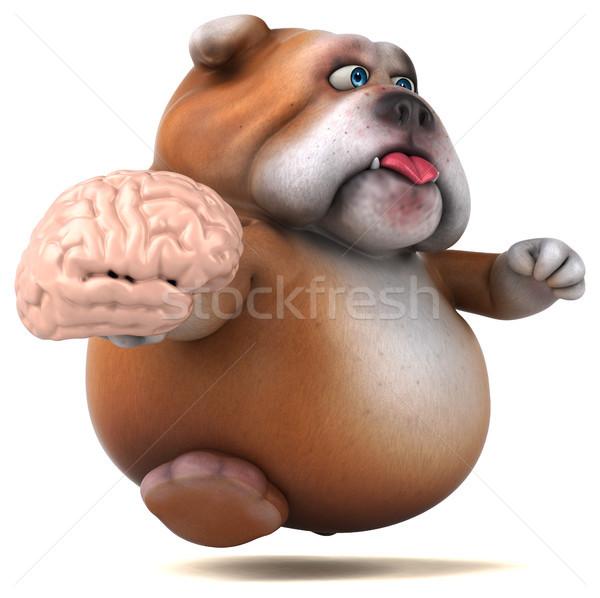 Diversión bulldog 3d diseno triste grasa Foto stock © julientromeur