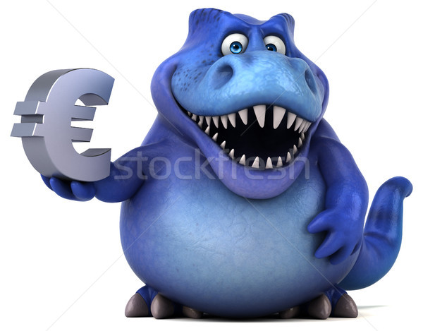 Eğlence dinozor 3d illustration iş para finanse Stok fotoğraf © julientromeur