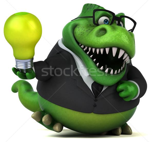 Zabawy 3d ilustracji działalności biznesmen zielone finansów Zdjęcia stock © julientromeur