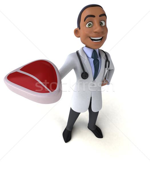 Amusement médecin coeur santé hôpital science Photo stock © julientromeur