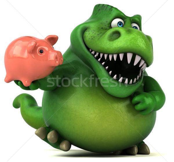 ストックフォト: 楽しい · 恐竜 · 3次元の図 · 金融 · 歯 · 動物